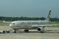 ETIHAD AIRWAYS ERSTFLUG IN JEREWAN GELANDET